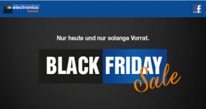 Black Friday melectronics