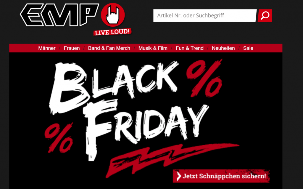 EMP Black Friday