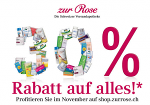Zur Rose Black Friday Deal