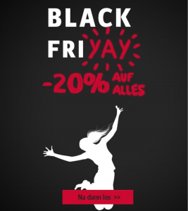 Black Friday Deal Ackermann: 20%