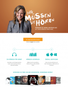 Audible gratis testen