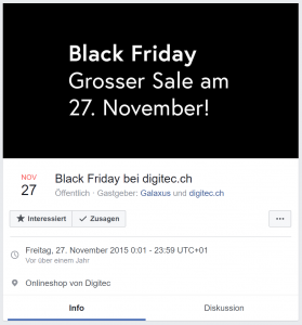 digitec Black Friday 2015