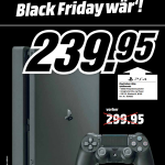 MediaMarkt Black Friday Playstation