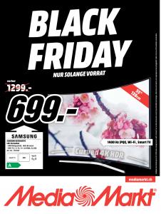 MediaMarkt Black Friday Smart TV