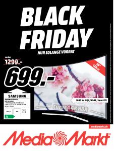 MediaMarkt Black Friday Smart TV