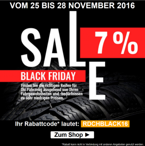 Reifendirekt Black Friday Deal