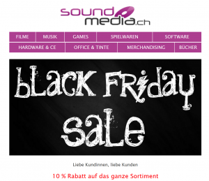 Soundmedia Black Friday Angebot