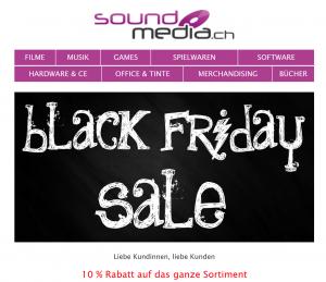 Soundmedia Black Friday