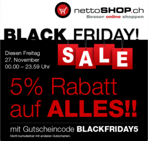 nettoshop.ch Black Friday