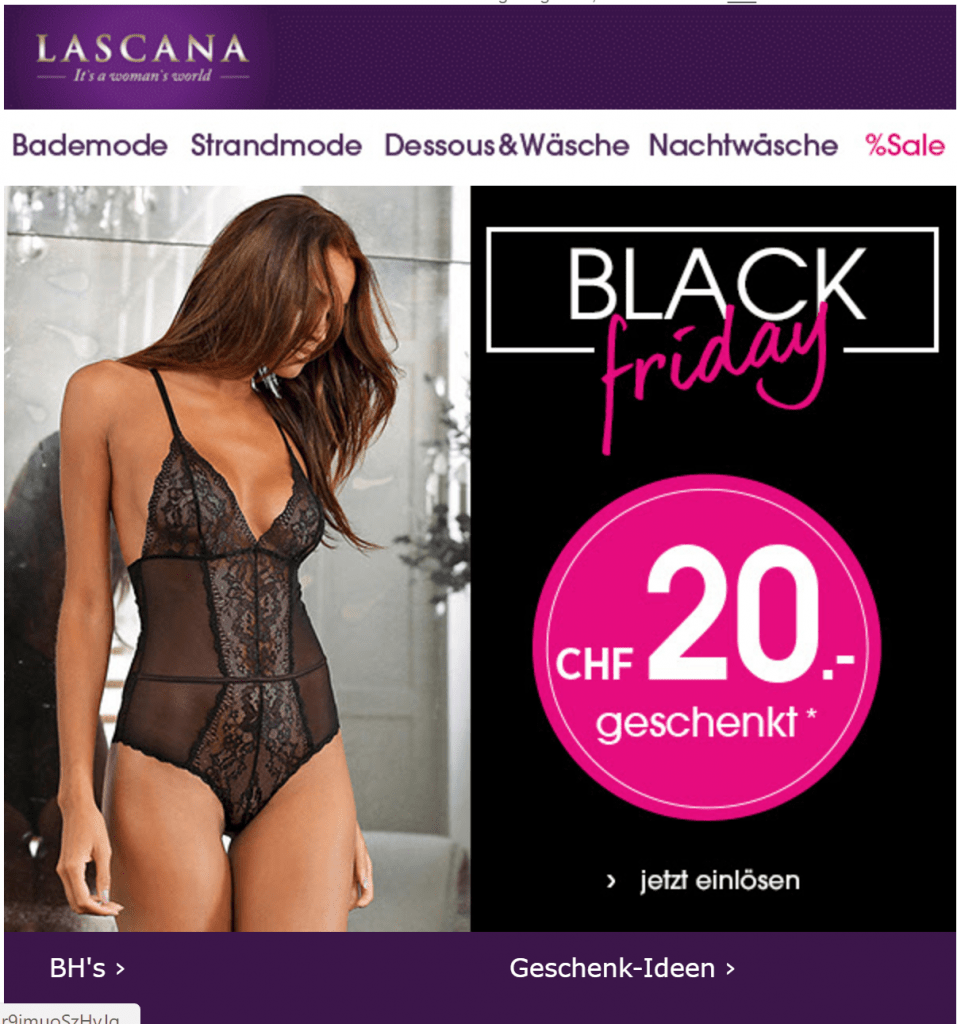 Black Friday Lascana