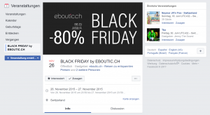 Black Friday Deals von eboutic