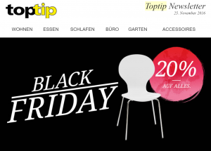 Toptip Black Friday Und Cyber Monday Die Deals 2019