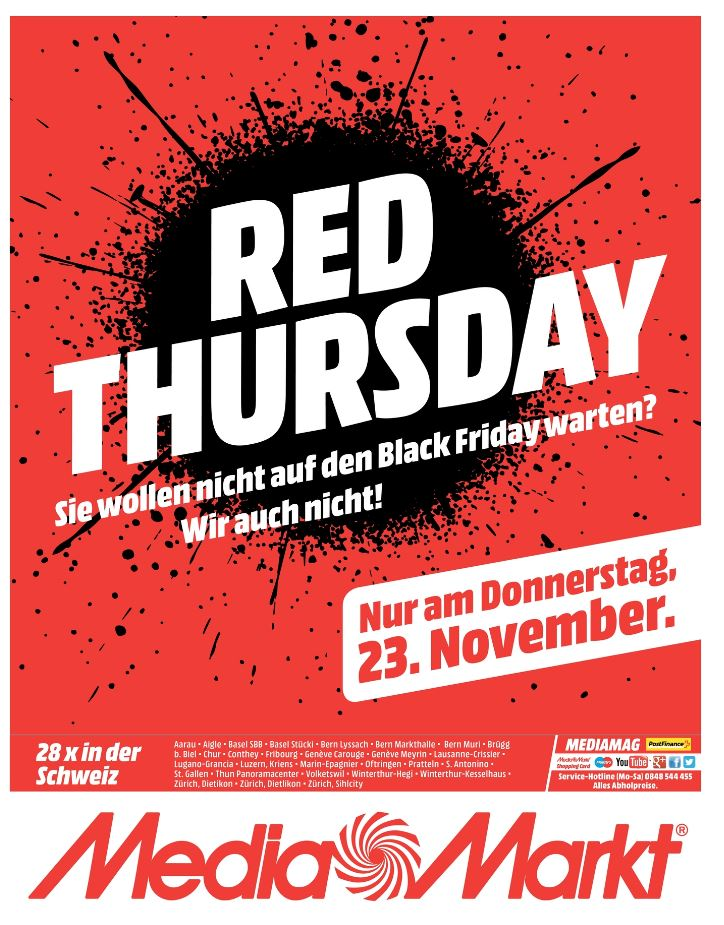 media markt lenovo rabatte red thursday black friday schweiz 2018. Black Bedroom Furniture Sets. Home Design Ideas