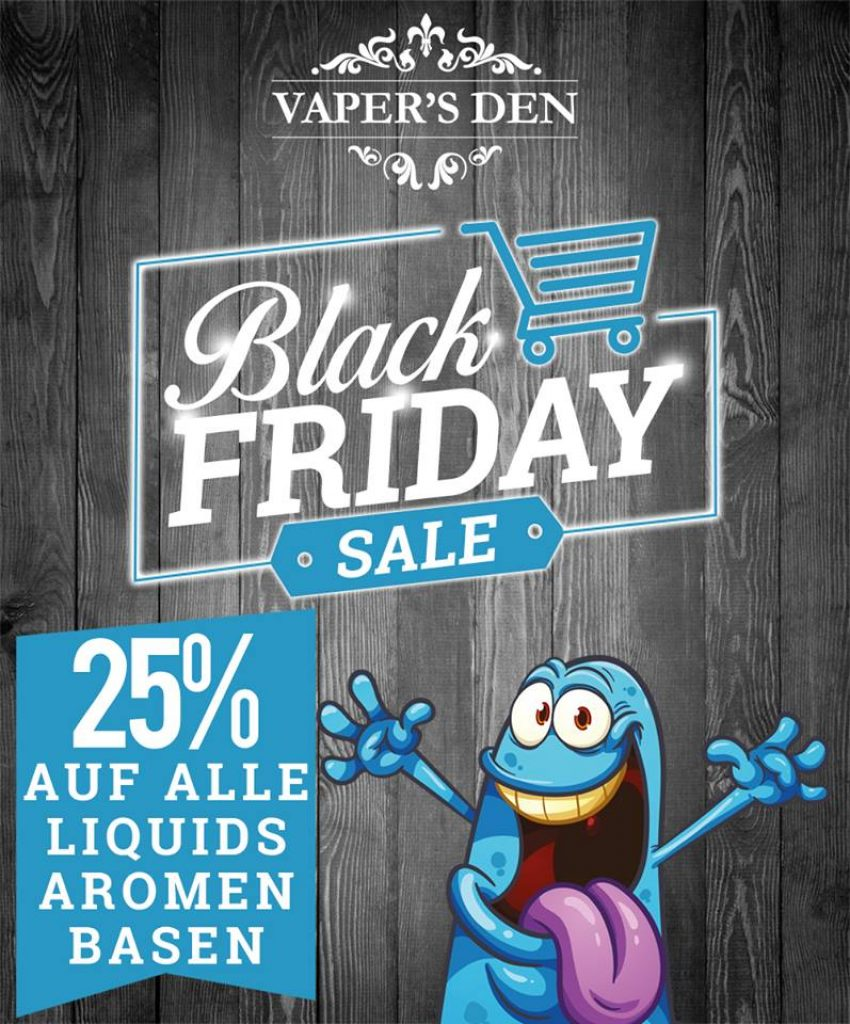 Vapers Den Black Friday