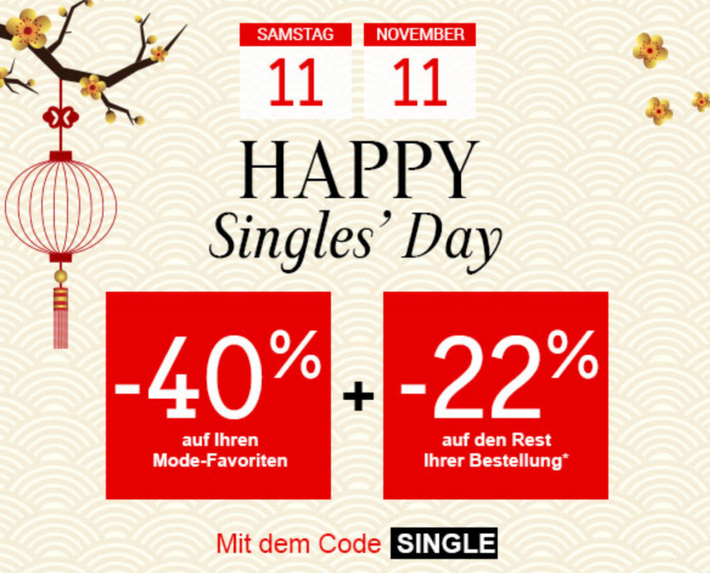 La redoute single's day