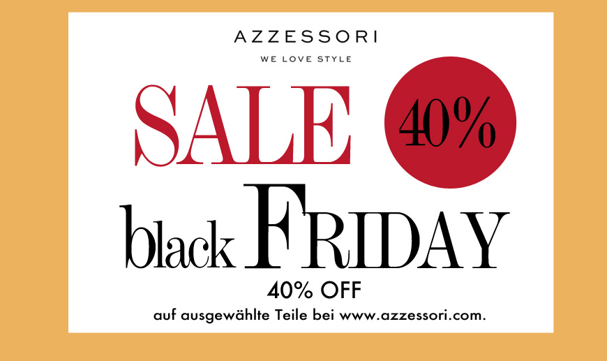 SALE black friday 40%