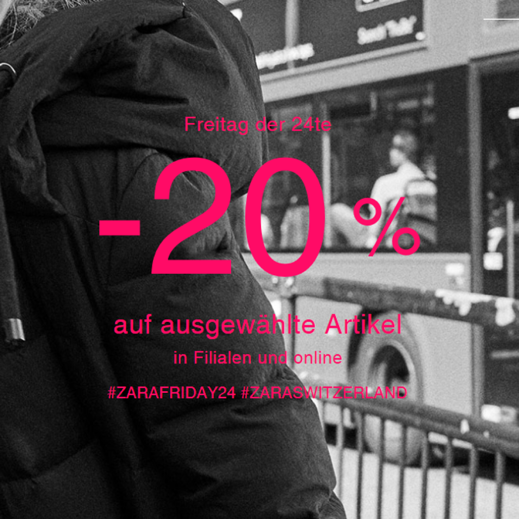 Black Friday bei Zara