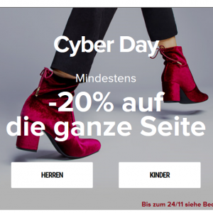 Sarenza Cyber Days