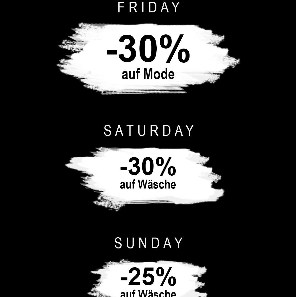 Black Friday Sale Jelmoli