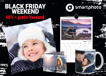 Smartphoto am Black Friday und Cyber Monday