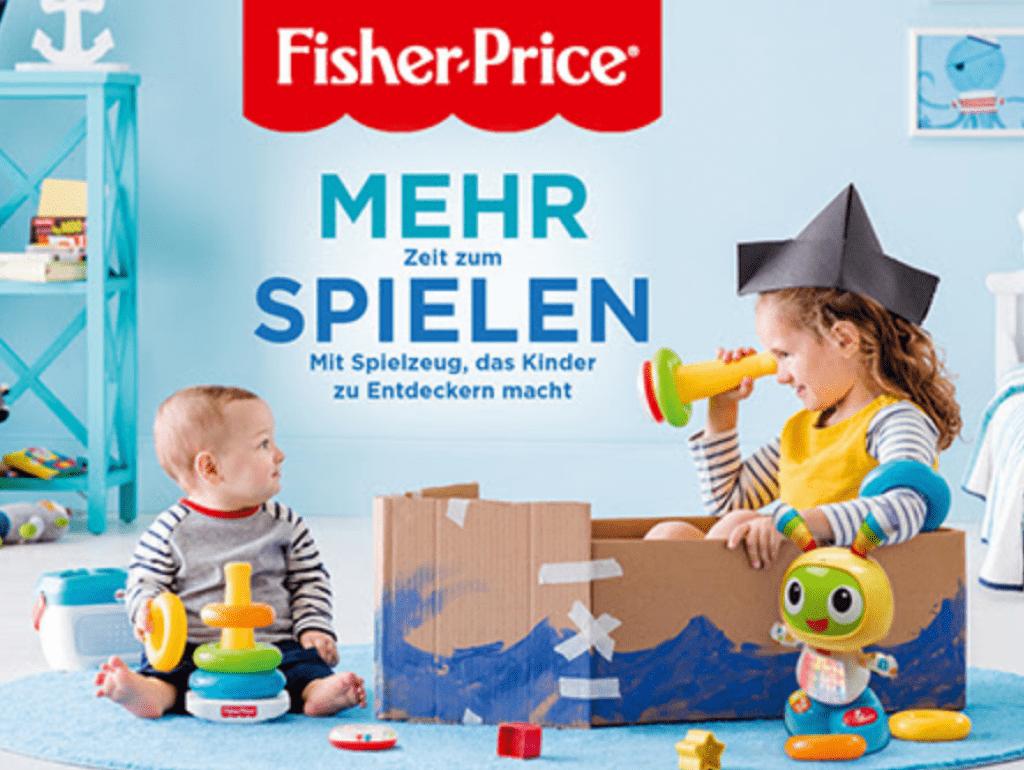 30% Rabatt auf Fisher-Price bei Manor - Black Friday Schweiz 2018