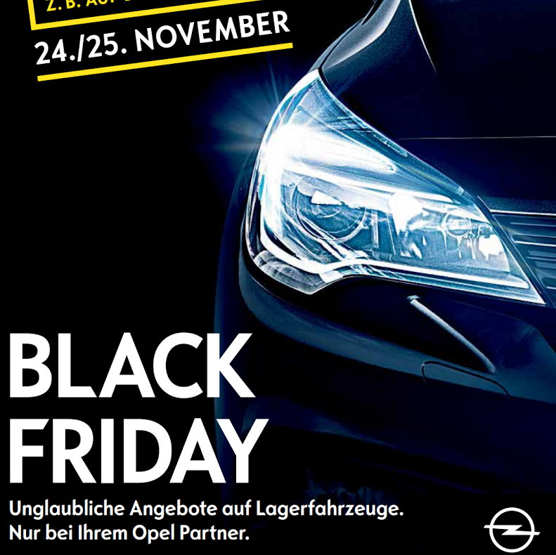 black friday angebote bei opel z b 36 auf den opel. Black Bedroom Furniture Sets. Home Design Ideas