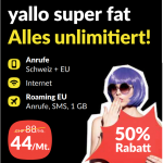 Black Friday Deal: yallo super fat