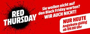 MediaMarkt Red Thursday