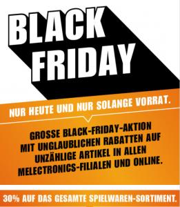 Black Friday im Migros Fachmarkt