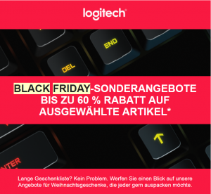 Deals bei Logitech