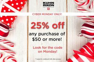 Kuhn Rikon Cyber Monday