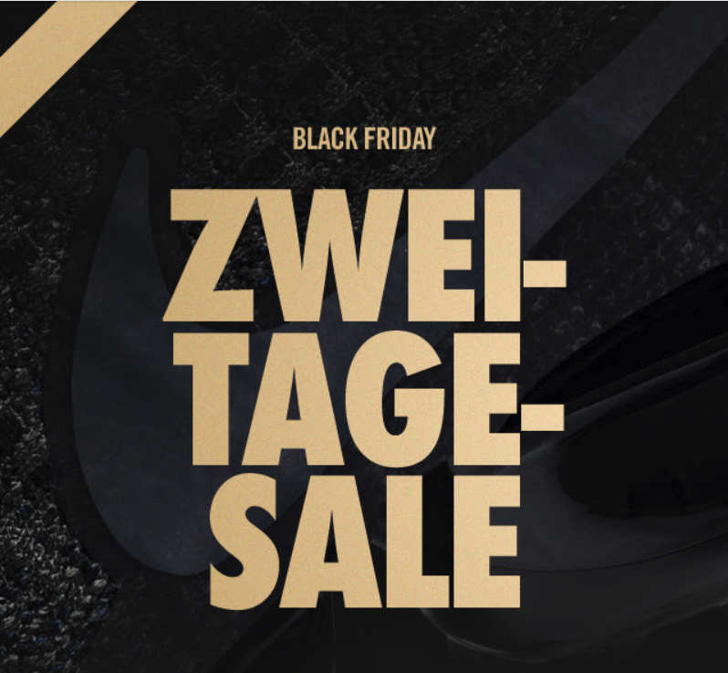 Nike Black Friday 2019: Bis zu 50% Rabatt auf Lifestyle ...