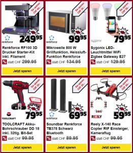 Schnapper-Deals von Conrad Electronics