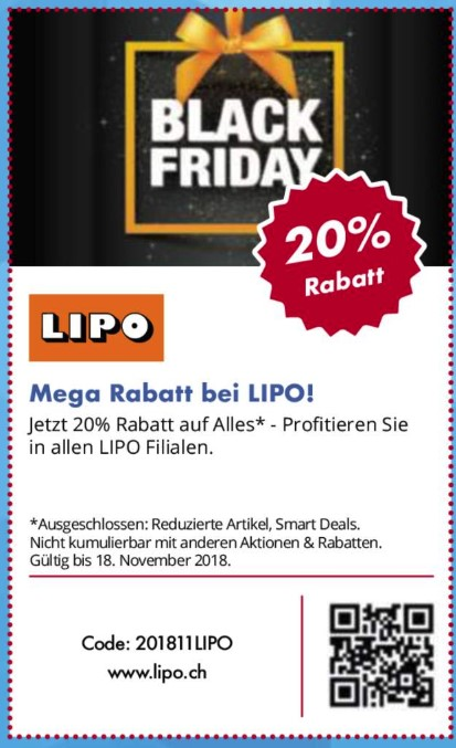 LIPO Black Friday