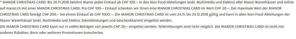 Manor Christmas Card