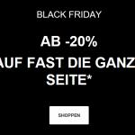 50% auf zahlreiche Artikel bei Dosenbach Black Friday 2020
