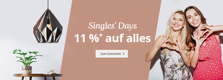 Singles Day bei Lampenwelt
