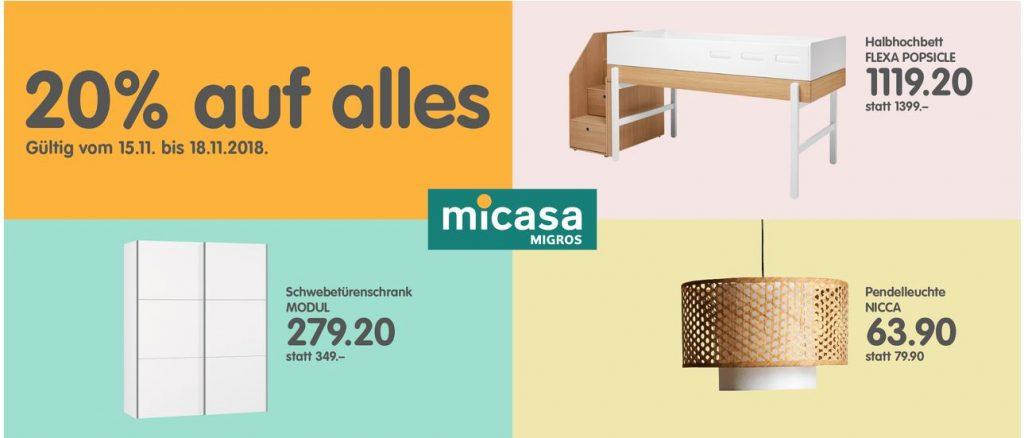Micasa 20 Rabatt Auf Komplett Alles Black Friday 2020