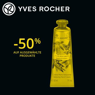 50% Rabatt | Handcreme Olive-Petitgrain