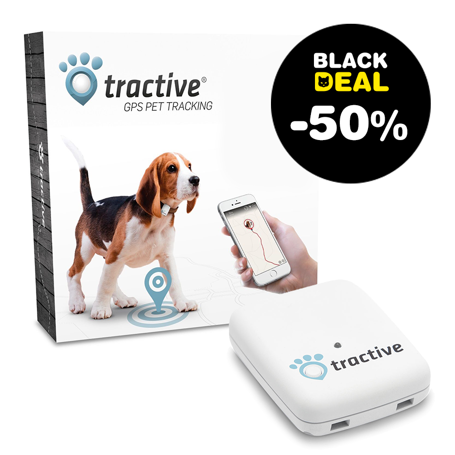 Tractive GPS tracker pour chiens & chats