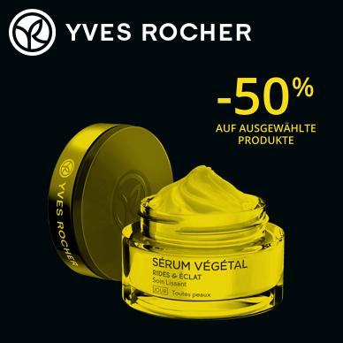 50% Rabatt +  Gutschein | Sérum Végétal