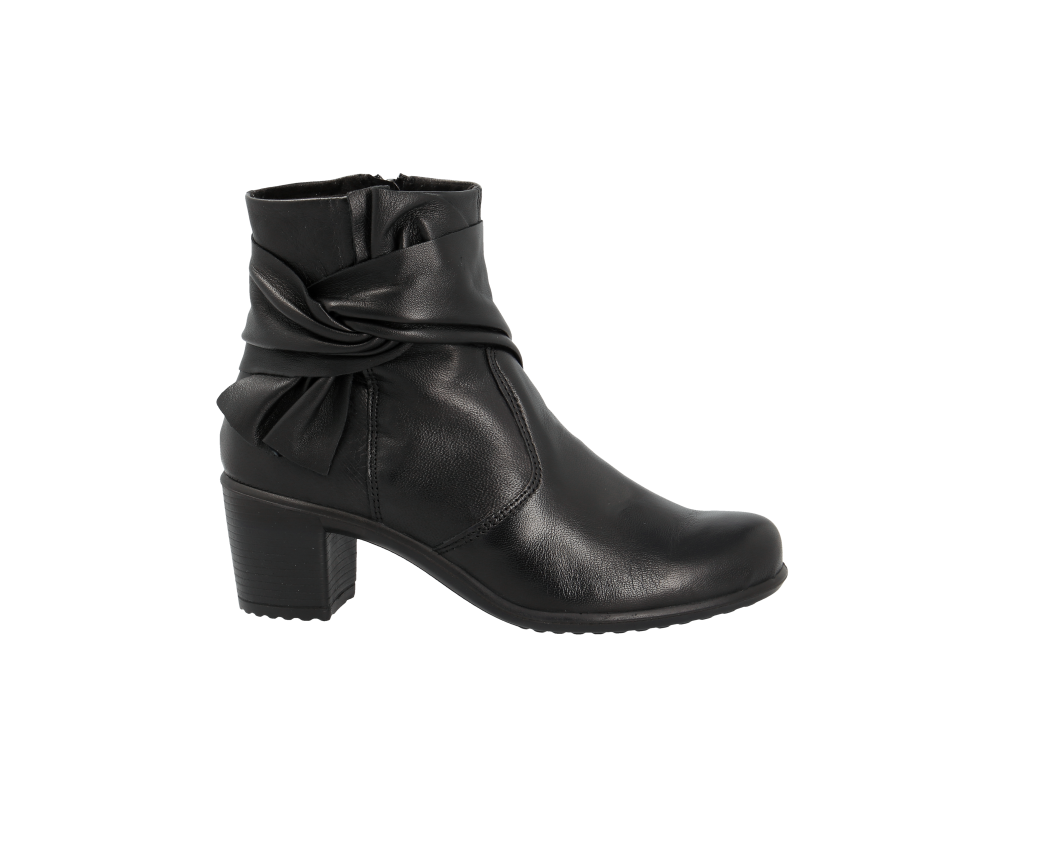 Botte Rieker noir à la mode