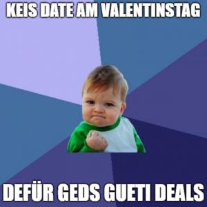 Keis Date am Valentinstag