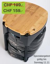 prezit – der Abfalleimer mit Komprimierfunktion zum Spezialpreis von CHF 159.00