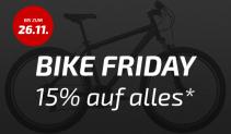 Bikester Deals zum Black Friday Schweiz 2017