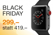 Apple Watch S3, GPS+3G, 38mm, dunkelgrau bei DQ Solutions