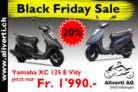 Yamaha XC 125 E Vity (20% Rabatt) Blackfridaydeal CHF 1'990.- statt CHF 2'490.-