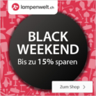 Bis 15% Rabatt bei Lampenwelt.ch – Black Friday 2017