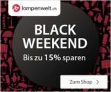 15% Black Weekend Rabatt bei Lampenwelt