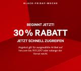 30% auf ausgewählte Artikel bei H&M
